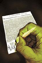 Image: Indestructible Hulk #11 (NOW!) (Time Travel variant cover) - Marvel Comics