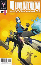 Image: Quantum & Woody #1 (20-copy incentive Robinson cover) - Valiant Entertainment LLC