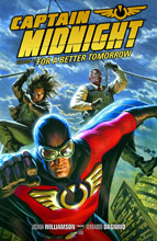 Image: Captain Midnight Vol. 03: For a Better Tomorrow SC  - Dark Horse Comics