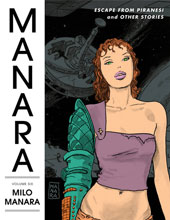 Image: Manara Library Vol. 06: Escape from Piranesi and Other Stories HC  - Dark Horse Comics