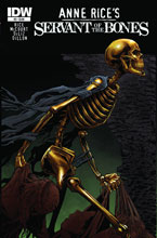 Image: Anne Rice Servant of the Bones  (S/N variant cover) HC - IDW Publishing