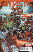 Image: Fantastic Four #7 (variant incentive cover - GotG) (15-copy) - Marvel Comics