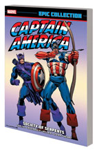 Image: Captain America Epic Collection: Society of Serpents SC  - Marvel Comics