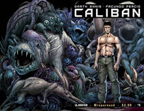 Image: Caliban #4 (wraparound cover) - Avatar Press Inc