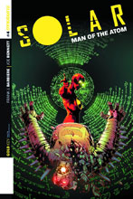 Image: Solar: Man of the Atom #4 (variant incentive cover - Jonathan Lau) (25-copy) - Dynamite