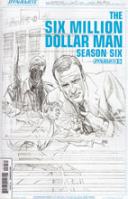 Image: Six Million Dollar Man: Season 6 #5 (variant incentive cover - Alex Ross Art Board) (15-copy) - Dynamite