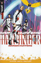Image: Armor Hunters Harbinger #1 (variant incentive cover - Trevor Hairsine) (25-copy) - Valiant Entertainment LLC