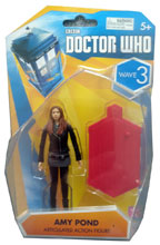 Image: Doctor Who 3.75' Action Figures Wave 3: Amy Pond  -