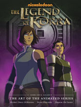 Image: Legend of Korra: The Art of the Animated Series Book 04: Balance HC  - Dark Horse Comics