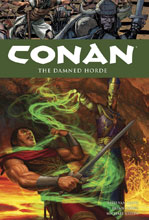 Image: Conan Vol. 18: The Damned Horde HC  - Dark Horse Comics