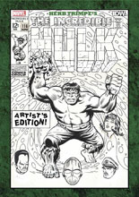 Image: Herb Trimpe's The Incredible Hulk Artist's Edition HC  - IDW Publishing