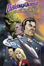 Image: Galaxy Quest: The Journey Continues SC  - IDW Publishing