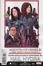 Image: Hail Hydra #1 (Wyatt Marvel's Agents of S.H.I.E.L.D. variant cover - 00161) - Marvel Comics