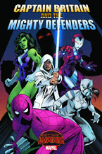 Image: Captain Britain and the Mighty Defenders #1 - Marvel Comics