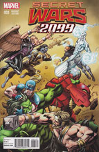 Image: Secret Wars 2099 #3 (Bagley variant cover) - Marvel Comics
