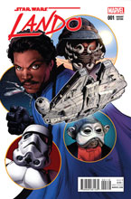 Image: Lando #1 (Land variant cover) - Marvel Comics