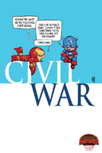 Image: Civil War #1 by Young Poster  - Marvel Comics