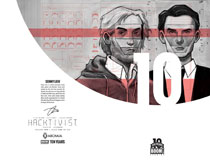 Image: Hacktivist Vol. 2 #1 (Liew 10 Years variant incentive cover - 00121) - Boom! - Archaia