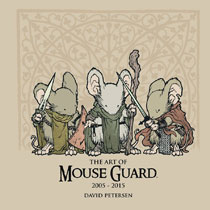 Image: Art of Mouse Guard 2005-2015 HC  - Boom! - Archaia