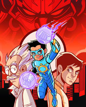 Image: Chakra the Invincible #1 - Graphic India Pte. Ltd
