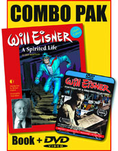Image: Will Eisner: A Spirited Life HC / Portrait of a Sequential Artist DVD Combo Pack  - Twomorrows Publishing