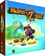 Image: Pirates of the 7 Seas Game  - IDW Publishing