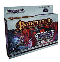 Image: Pathfinder Adventure Card Game: Wrath of the Righteous Adventure Deck 3 - Demon's Hersey  -