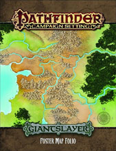 Image: Pathfinder Campaign: Giantslayer Poster Map Folio  -