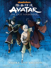 Image: Nickleodeon Avatar: The Last Airbender - Smoke and Shadow Library Edition HC  - Dark Horse Comics