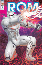 Image: ROM [2016] #1 (Michael Golden variant incentive cover - 00171) (50-copy) - IDW Publishing