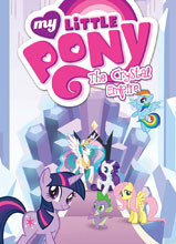 Image: My Little Pony Vol. 06: The Crystal Empire SC  - IDW Publishing