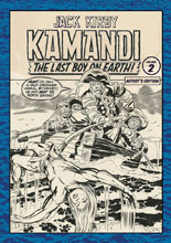 Image: Jack Kirby Kamandi: The Last Boy on Earth! Artist's Edition Vol. 02 HC  - IDW Publishing