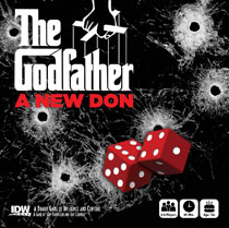 Image: Godfather: A New Don Board Game  - IDW Publishing