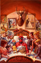 Image: Deadpool [2016] #15 (Brereton Death of X variant cover) - Marvel Comics