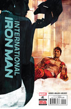 Image: International Iron Man #5 - Marvel Comics