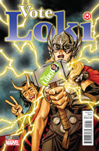 Image: Vote Loki #2 (variant cover - Dave Johnson) - Marvel Comics