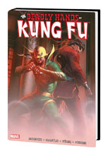 Image: Deadly Hands of Kung Fu Omnibus Vol. 01 HC  (Dell'Otto cover) - Marvel Comics