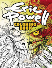 Image: Eric Powell Coloring Book SC  - Albatross Funnybooks