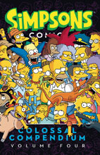 Image: Simpsons Comics Colossal Compendium Vol. 04 SC  - Bongo Comics