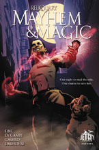 Image: Mayhem and Magic: The Reliquary Series #1 - Jet City Comics