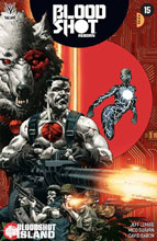 Image: Bloodshot Reborn #15 (cover A - Giorello) - Valiant Entertainment LLC