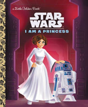 Image: Star Wars: Little Golden Book - I Am a Princess  - Random House Books For Young R