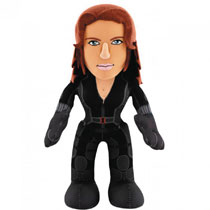Image: Captain America: Civil War 10-inch Plush Figure: Black Widow  - Bleacher Creatures