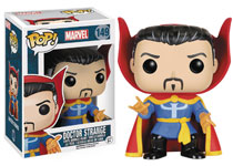 Image: POP! Marvel Vinyl Bobble-Head 149: Doctor Strange  (Classic) - Funko