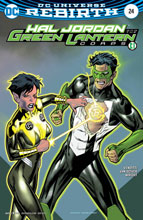 Image: Hal Jordan & the Green Lantern Corps #24 (variant cover - Kevin Nowlan) - DC Comics