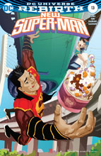 Image: New Super-Man #13 (variant cover - Bernard Chang) - DC Comics