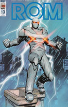 Image: Rom #13 (incentive cover - Raffaele Ienco) (10-copy) - IDW Publishing