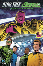 Image: Star Trek / Green Lantern Vol. 02: Stranger Worlds SC  - IDW Publishing