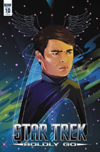 Image: Star Trek: Boldly Go #10 (Cryssy Cheung incentive cover - 01041) (25-copy) - IDW Publishing