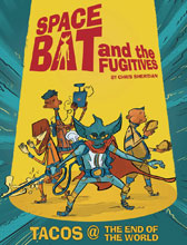 Image: Spacebat & the Fugitives Book 01 GN  - IDW - Top Shelf